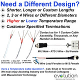 RTD Extension Wire - Custom Cable Assemblies