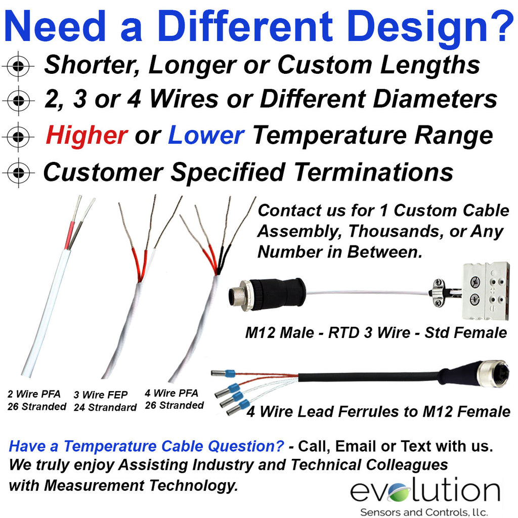 J Type A 3 Wire Rtd Wiring Trusted Diagram Design 24 Gage Stranded With Fep Insulation 100 4