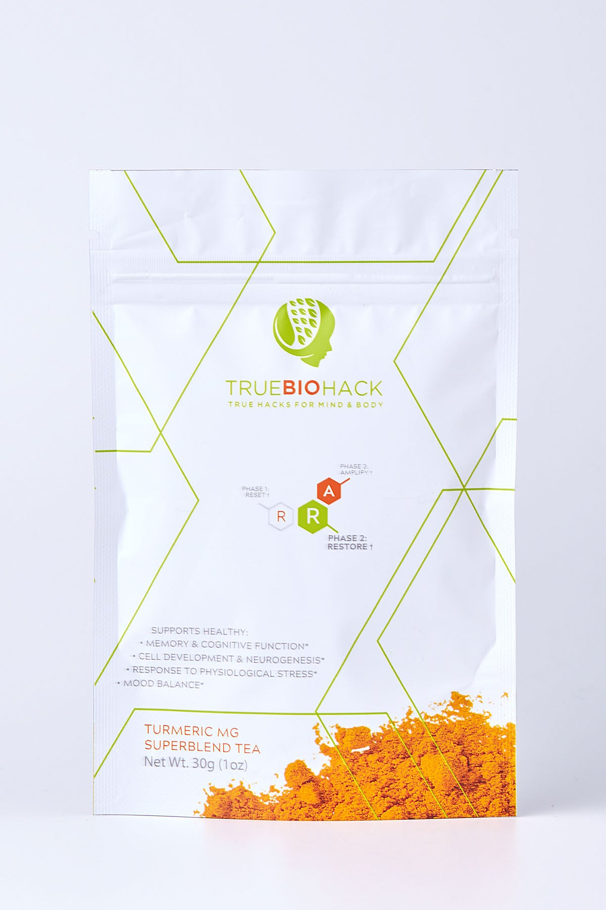 Best Turmeric Tea Blend With Ginger, Black Pepper and Monk Fruit