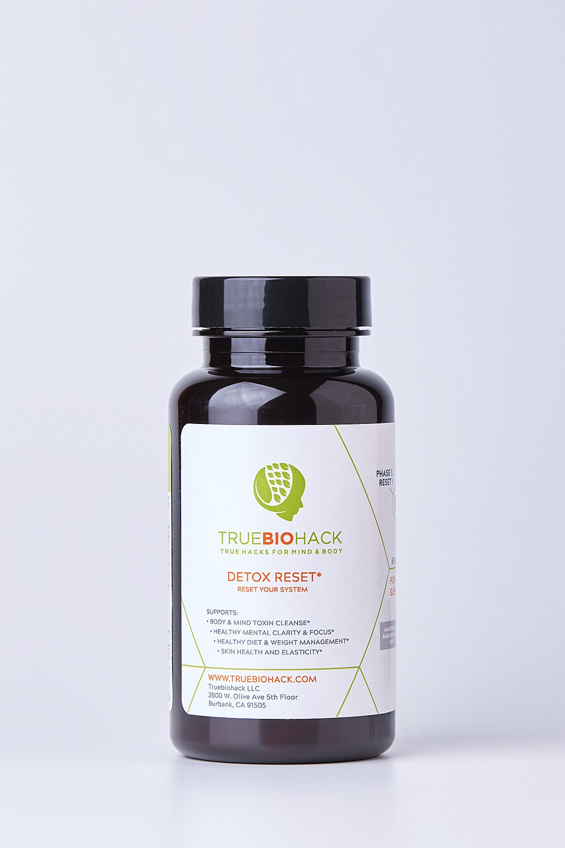 Detox Reset Capsules - Metabolism & Weight Loss Boost -Superfood Based