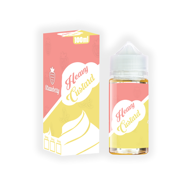 Heavy Custard - Strawberry Banana Vape Juice
