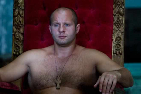 Fedor Emelianenko is a former PRIDE Heavyweight Champion, and widely accepted as the greatest heavyweight fighter to ever have fought MMA, and the #1 pound for pound greatest fighter of all time. He has almost always maintained a calm, stoic composure and remained a respectful martial artist.