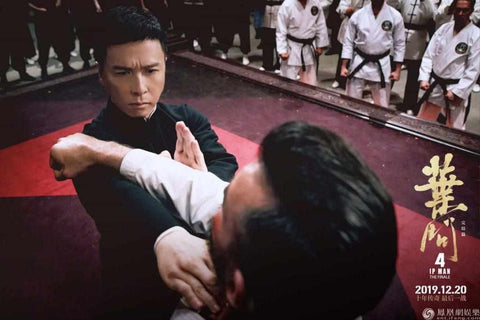 Ip Man (Donnie Yen) fights Colin Frater (Chris Collins)