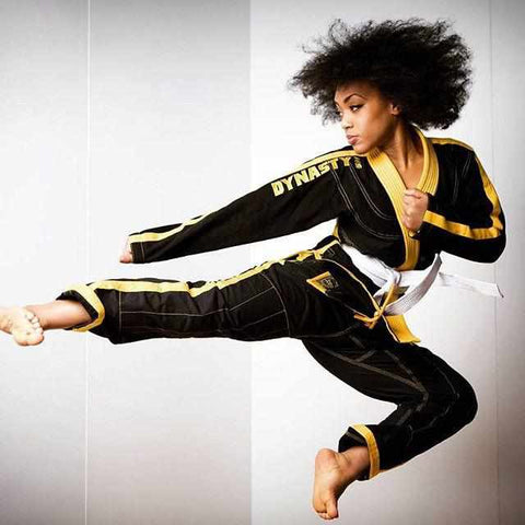 Dynasty worn by Dynasty Family Member Shaina West Samurider Martial Artist Model Stunt Woman
