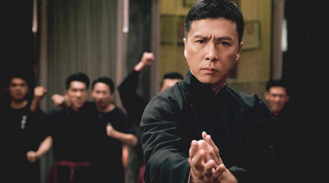 Donnie Yen as Ip Man in Ip Man 4 The Finale