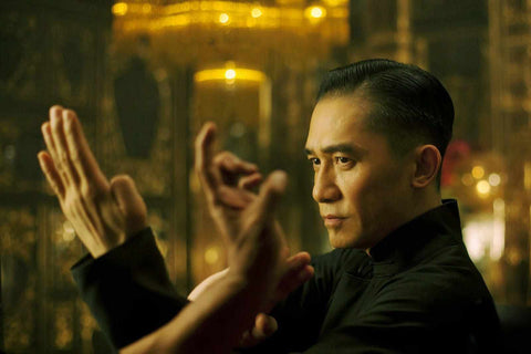 Tony Leung as Ip Man in Wong Kar Wai's Grandmaster