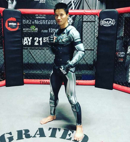 Dynasty worn by UFC Fighter Ben 10 Nguyen