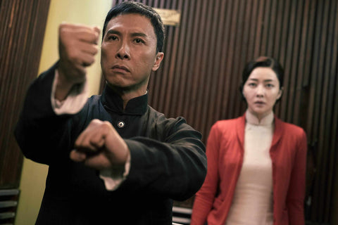 Ip Man with wife
