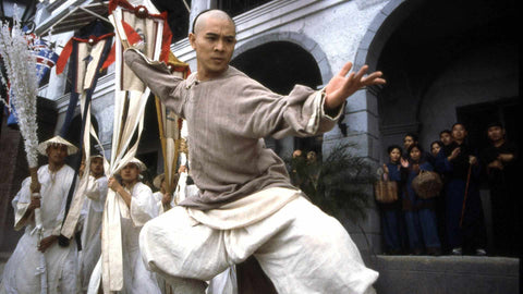 Jet Li as Wong Fei Hung in Once Upon A Time In China