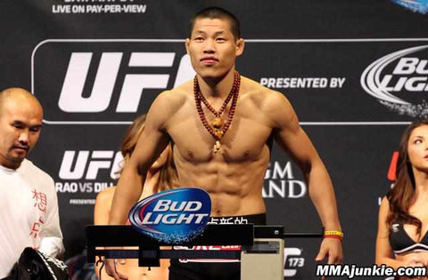 Li Jingliang, champion in Legend FC, has been cut from the UFC