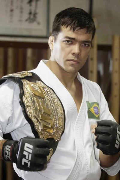 Lyoto Machida is a former UFC Light Heavyweight Champion. He is a true martial artist in every sense of the word, and not a day goes by where he does not train. He does not talk trash, and prefers to let his actions speak for themselves.