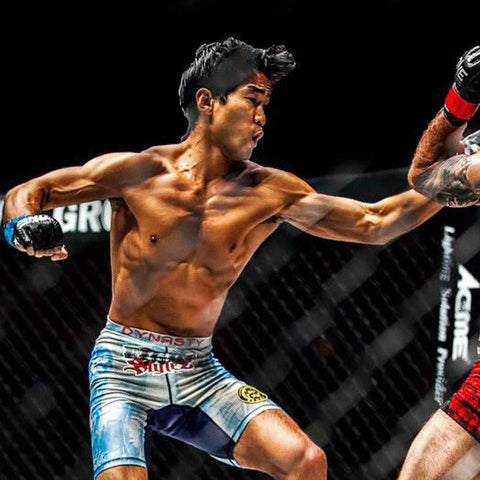 Dynasty worn by Dynasty Family Member Nathan Ng Pretty Boy One Championship MMA Fighter
