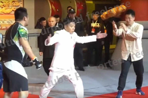 Xu Xiao Dong beats up Chinese Kung Fu masters in China