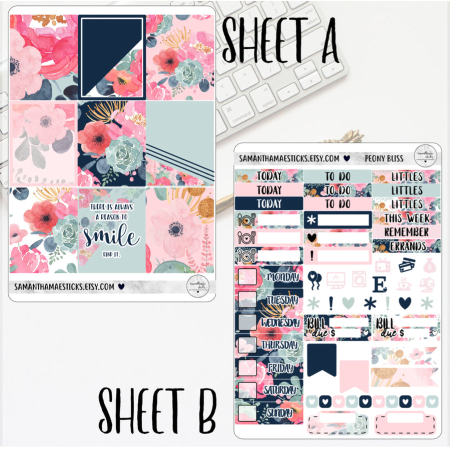 Peony Bliss Mini Kit