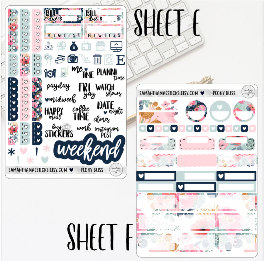 Peony Bliss Vertical Kit