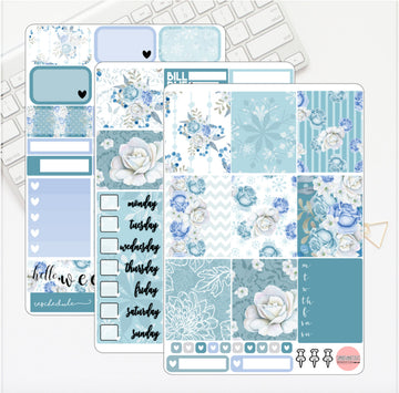 Winter Florals Mini Kit