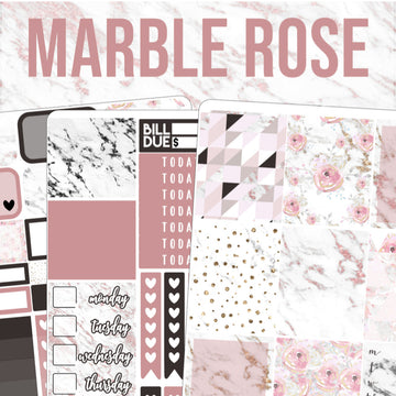 Marble Rose Mini Kit