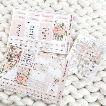 She Blooms Foiled Two Page Mini Vertical Kit | RTS