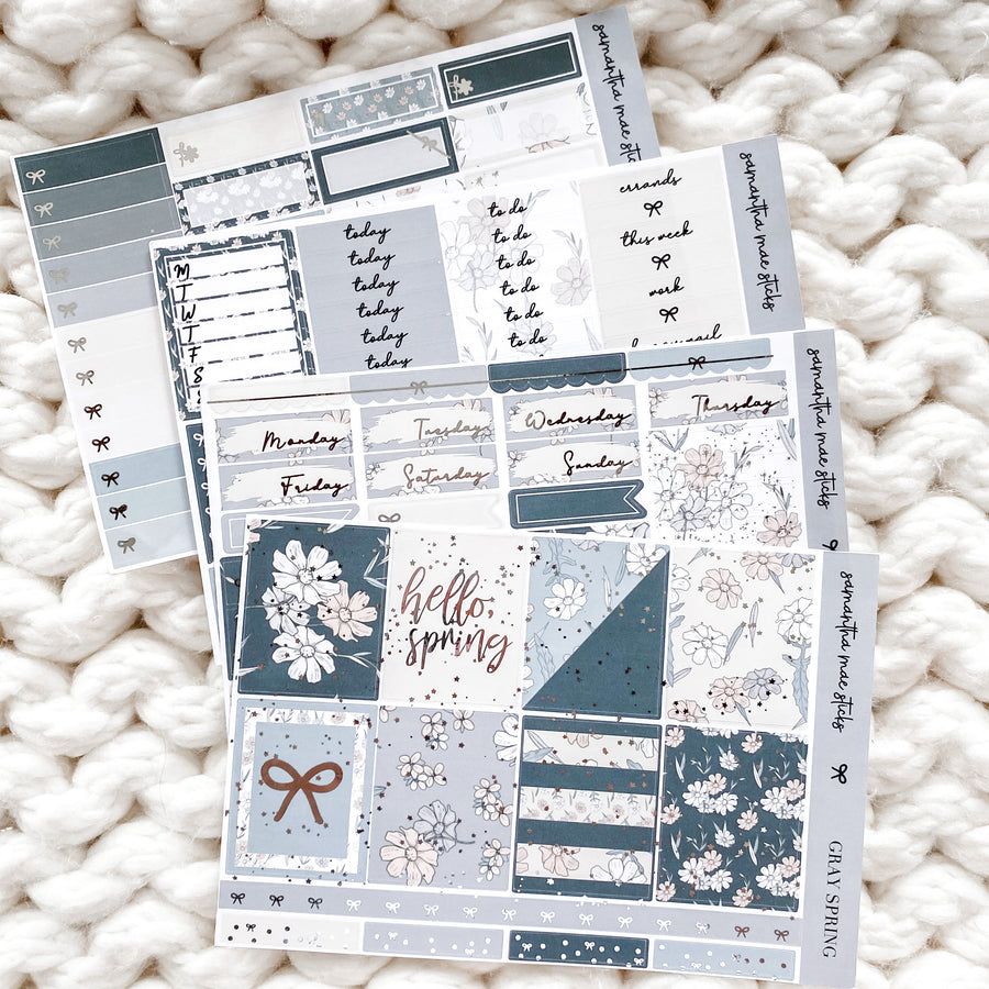 GRAY SPRINGS FOUR PAGE VERTICAL KIT | RTS