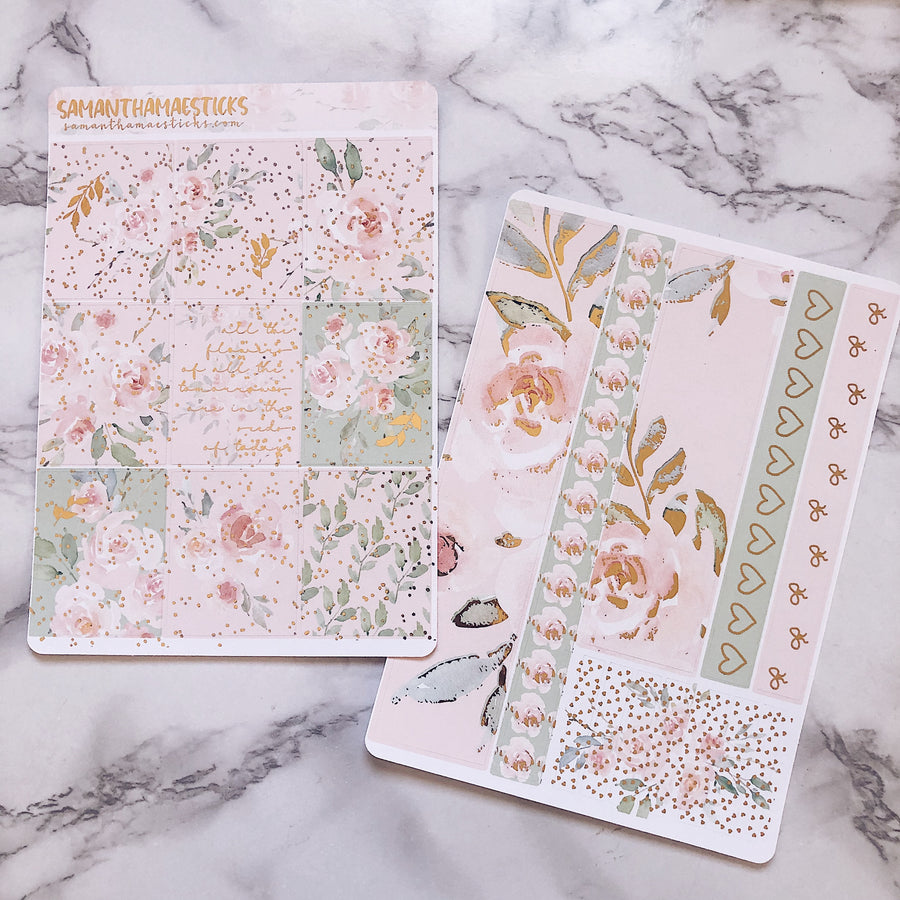Mae's Garden Full Six Page Vertical Kit