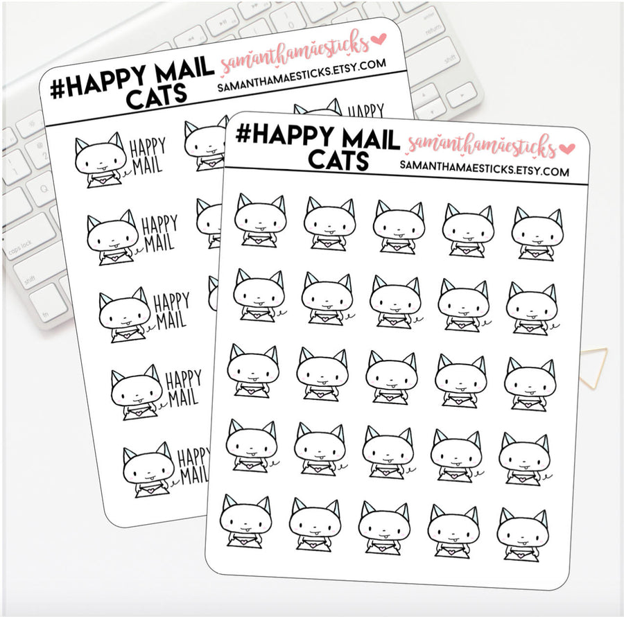 Happy Mail Cats Icon