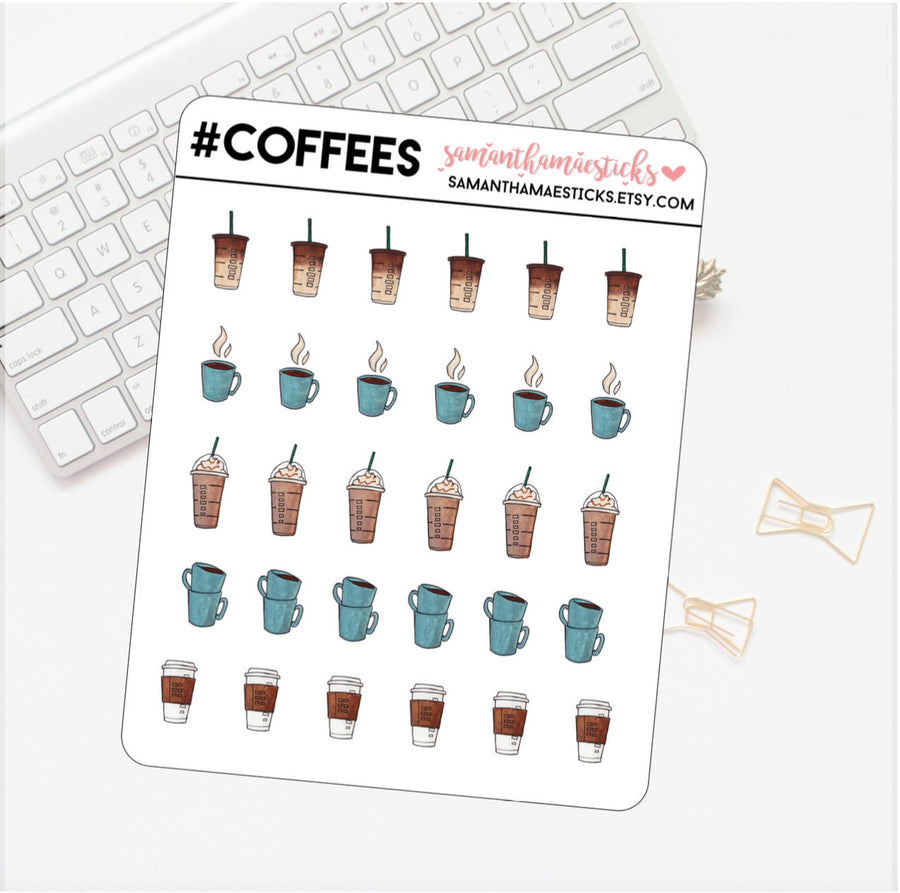 Assorted Coffee Icons