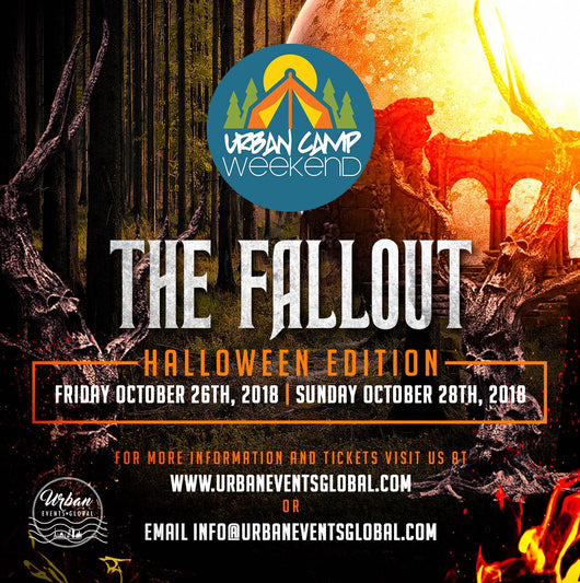 Urban Camp Weekend - Admission Ticket (bring your own tent) for October 2018 (four person - Non-Refundable $68 per person)