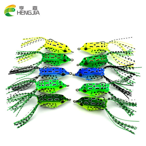 1PC soft tube bait - fishing lures - frog lure