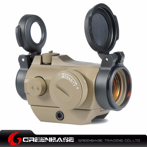 Greenbase Tactical hunting riflescopes 20mm Low Mount Micro 1x24