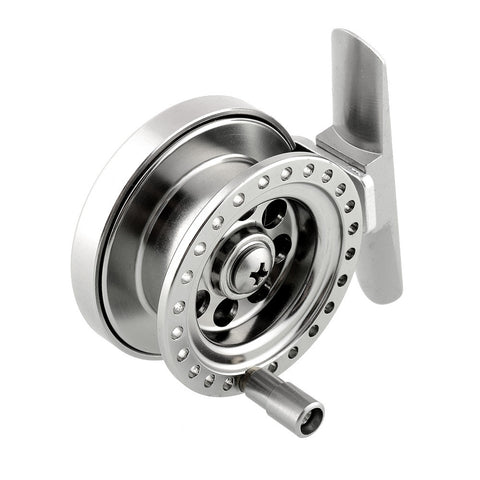 Aluminum Ice Fishing Reel For Super Strong Sea Ice Fly Fishing Line