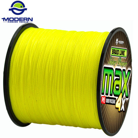 300M MODERN FISHING Brand super strong Japan multifilament PE braided fishing line