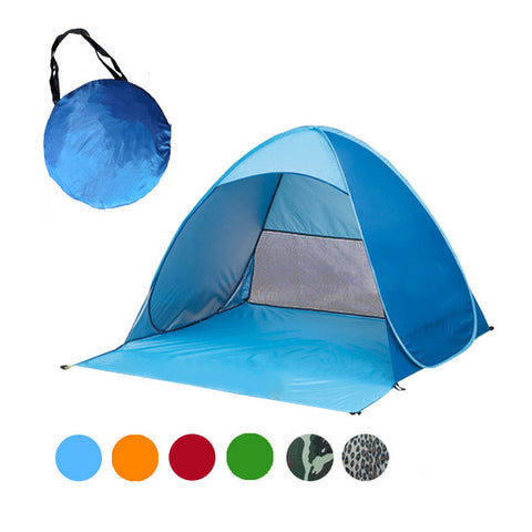 2-3 Persons fishing tent Outdoor camping hiking beach summer tent UV protection