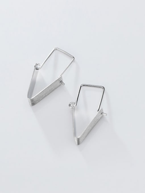 CLIP ON EARRINGS 925 STERLING SILVER RING