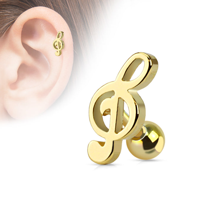 RB%- Gold Music Note
