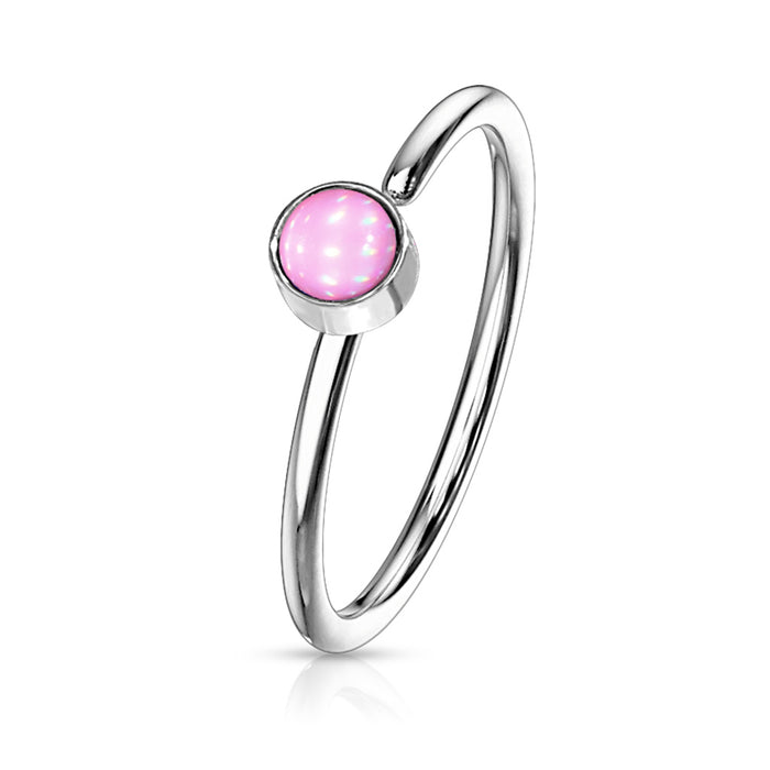 ILLUMINATING HOOP PINK