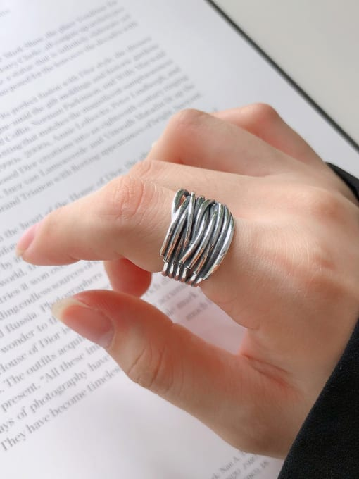 VINTAGE MIDI 925 STERLING SILVER RING