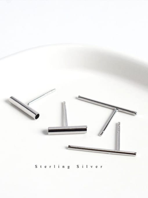 TUB MINIMALIST EARRINGS 925 STERLING SILVER