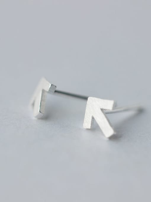 TRIANGLE MINIMALIST EARRINGS 925 STERLING SILVER