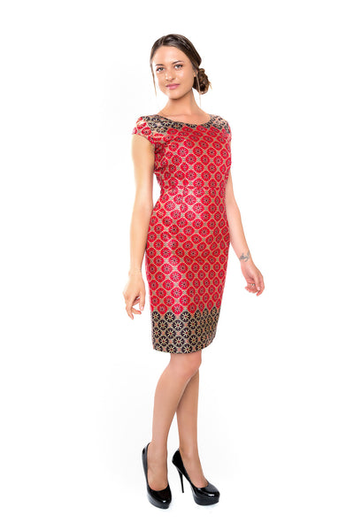 The Nozi Sheath Dress