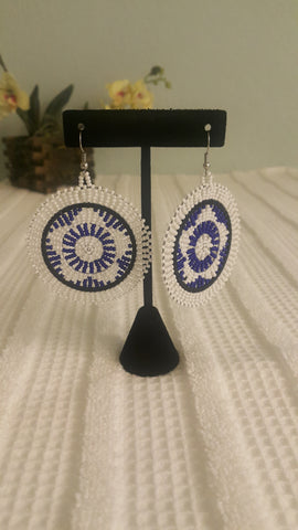 "Lerato ""Two-Tone"" Earrings"