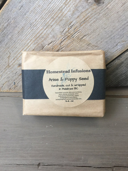 Anise & Poppy Seed Bar Soap