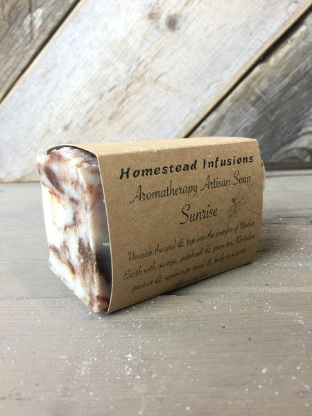 Aromatherapy Soap: Sunrise