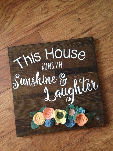 Sunshine & Laughter Sign