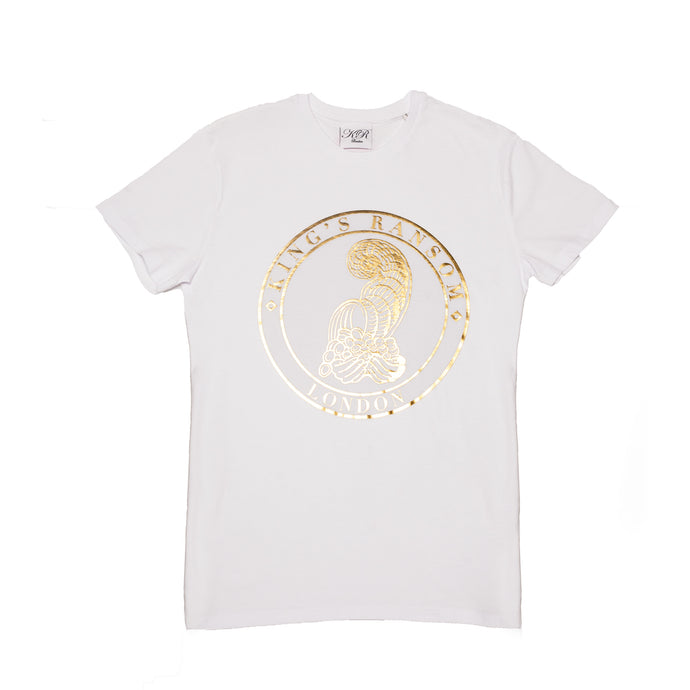 King's Ransom London Liquid Gold T-shirt
