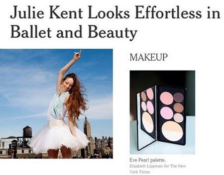 The New York Times: Julie Kent Looks Effortless in Ballet and Beauty