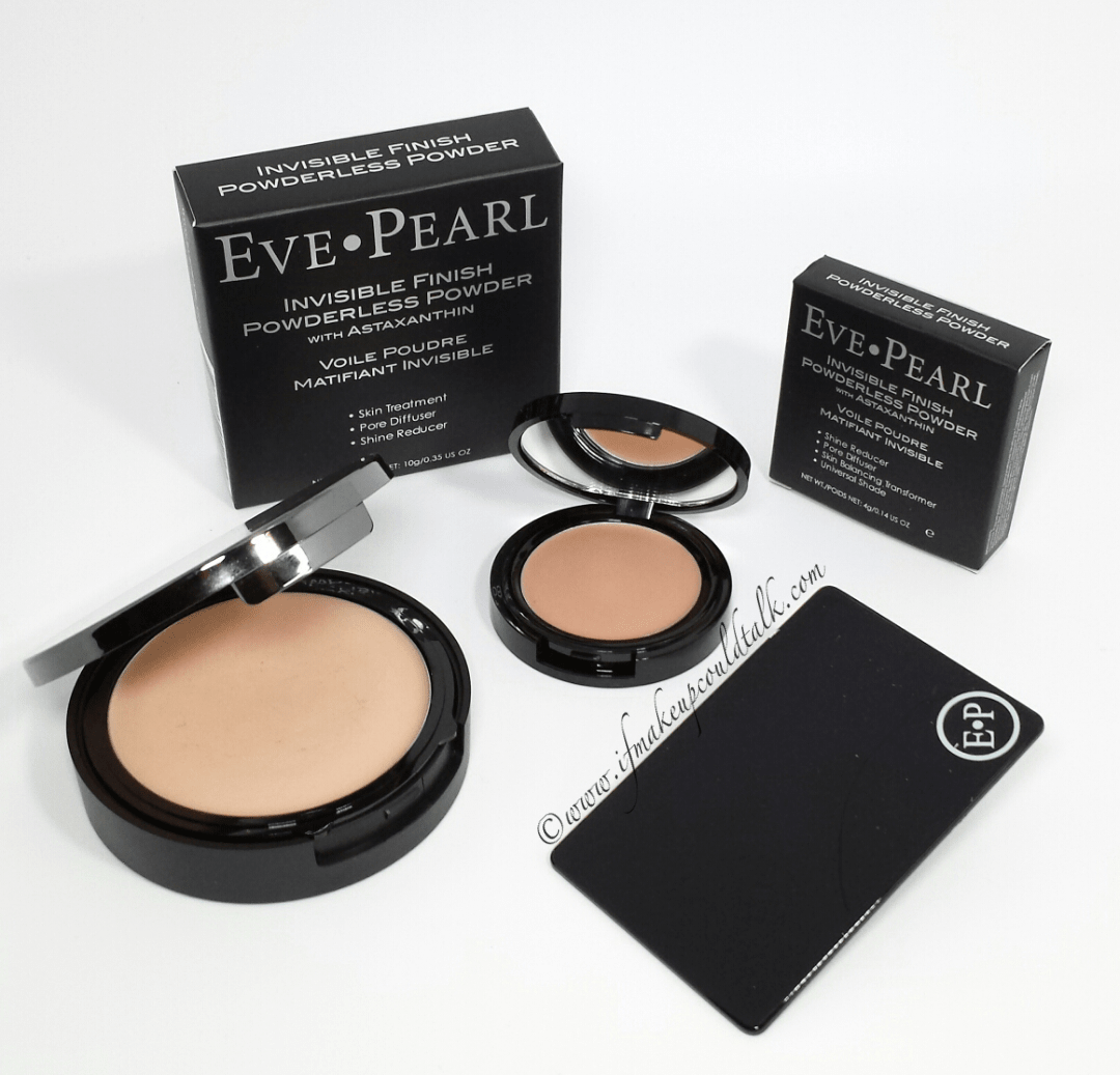 Eve Pearl Invisible Finish Powderless Powder review, photos and comparisons