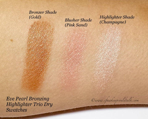 Bronzing Highlighter Trio & 110 Fan Brush Review