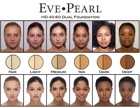EVE PEARL Priming Moisturizer, Dual Foundation & Contour Brush Collection