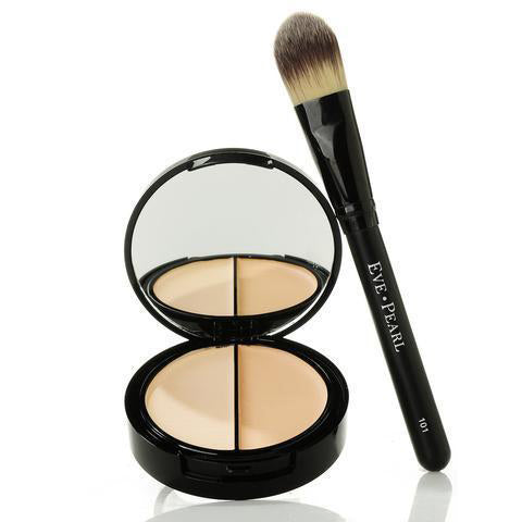 EVE PEARL HD 50:50 Dual Foundation & 101 Foundation Brush