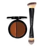 EVE PEARL HD Dual Foundation & 201 Contour Blender Brush